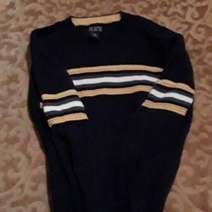 Boys XL Blue w/stripes sweater